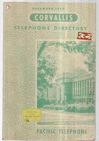 Corvallis, Oregon Telephone Directory 1957