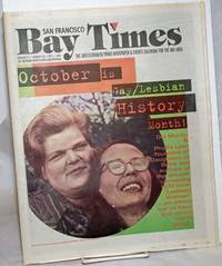 image of San Francisco Bay Times: the gay/lesbian/bi/trans newspaper_calendar of events for the Bay Area; [aka Coming Up!] vol. 17, #26, Oct. 3, 1996; October is Gay/Lesbian History Month!