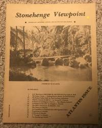 The Round Table Cloth Paul Karlsson Johnstone Stonehenge Viewpoint Issue Number 58 ATLANTIS ISSUE