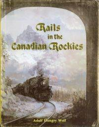 Rails in the Canadian Rockies.