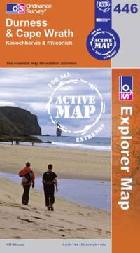 image of Durness and Cape Wrath (OS Explorer Map Active)