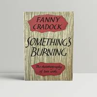 Something's Burning by  Fanny Cradock - First Edition - 1960 - from John Atkinson Books (SKU: 12428)