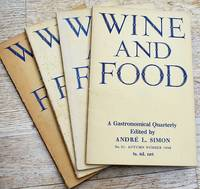 image of WINE AND FOOD A Gastronomical Quarterly 1946 [4 issues]