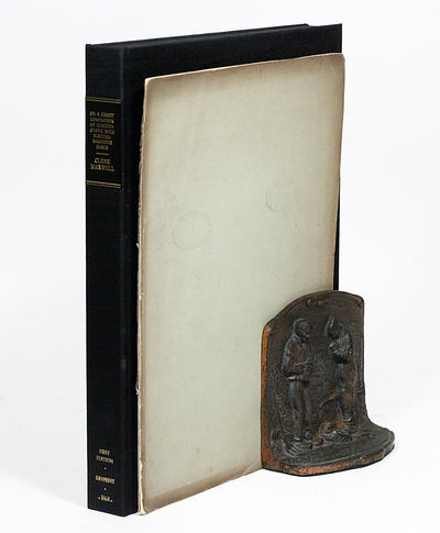 London: Taylor & Francis, 1868. First edition offprint. Original wrappers. Very Good. FIRST EDITION,...