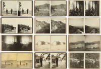 [COLLECTION OF 137 VERNACULAR STEREOSCOPIC PHOTOGRAPHIC VIEWS DEPICTING THE PEOPLE AND LANDSCAPES OF THE AMERICAN WEST AND SOUTHWEST, SOME PERTAINING TO ENERGY SPECULATION]