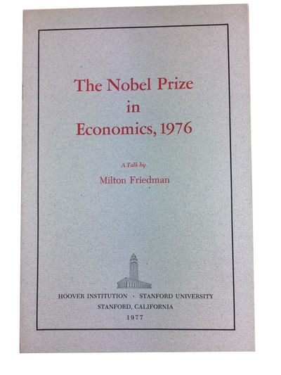 Stanford: Hoover Institution: Stanford University, 1977. Paperback. Near Fine. 16p. Softcover in ori...