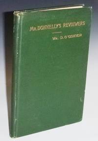 "Mr. Donnelly's Reviewers (Inscribed : ""To My Dear Wife, I.D., June 15, 1889"