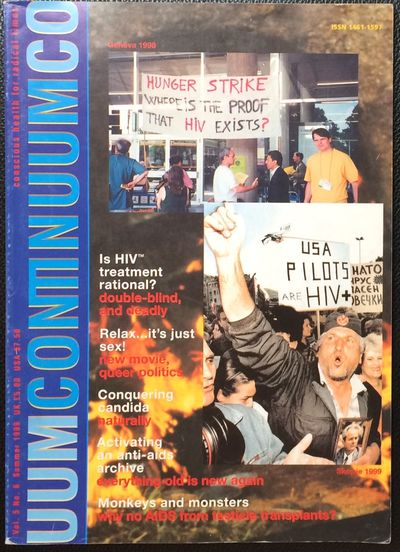 London: Continuum, 1999. 84p., glossy magazine, very good. Articles denying a link between HIV and A...