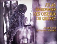 image of Atlas saisonnier des oiseaux du Québec