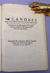 View Image 1 of 2 for Canones sicut brevissimi, ita etiam doctissimi, complectentes praecepta & observationes de mutatione... Inventory #40981