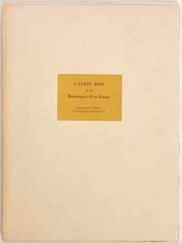 image of L'Après-midi et le monologue d'un faune, traduzione da Mallarmé di Giuseppe Ungaretti (lithographies originales de Carlo Carrà)