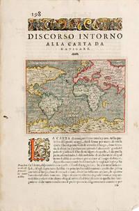 CARTA DA NAVIGARE. by  Thomaso PORCACCHI DA CASTIGLIONE - 1590 - from Peter Harrington (SKU: 53262)