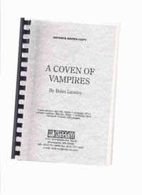 FEDOGAN & BREMER Advance Review Copy: A Coven of Vampires ( What Dark God; Back Row; Strange Years; Kiss of the Lamia; Recognition; Thief Immortal; Necros; Thing from the Blasted Heath; Uzzi; Picnickers; Zack Phalanx is Vlad the Impaler, etc)
