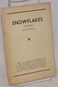 image of Snowflakes; a testimony