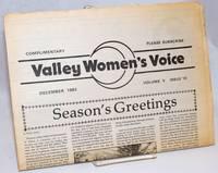 Valley Women\'s Voice; Volume 5 Issue 10, December 1983