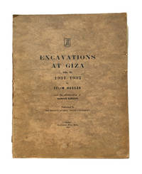 Excavations at Giza. Vol. III. 1931-1932