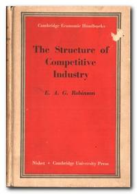 The Structure Of Competitive Industry