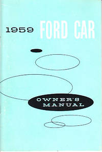 image of [Original] 1959 Ford Car Owner's Manual