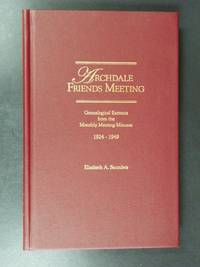 Archdale Friends Meeting : Genealogical Extracts from the Monthly Meeting Minutes: 1924-1949