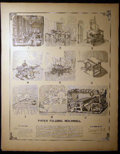 Washington: Government Printing Office, 1888. A double-sided folio plate from