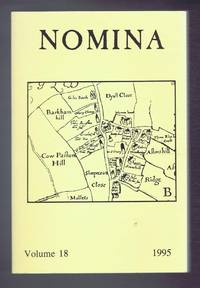 Nomina. Vol. 18 - 1995. Journal of the Society for Name Studies in Britain and Ireland