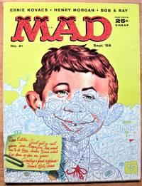 Mad Magazine.. Number 41 September 1958