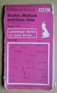 Ordnance Survey Map. Buxton, Matlock and Dove Dale. Showing Part of National Park. Sheet 119.