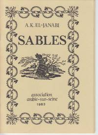 Sables by  A. K El-Janabi - Paperback - Signed First Edition - 1983 - from Beasley Books (SKU: 28031)