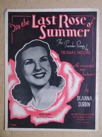 Tis the Last Rose of Summer.