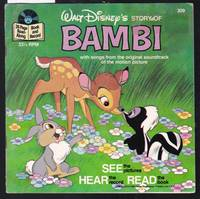 image of Walt Disney's Story of Bambi - A Disney Record and Book No.309