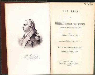 New York: Mason Brothers, 1859. First edition in English translation. Very Good/Dedicated to the aut...