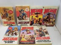 Set of 7 Slocum Series by Jake Logan Montana Showdown Guns of South Pass