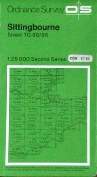 Pathfinder map Sittingbourne sheet TQ86/96