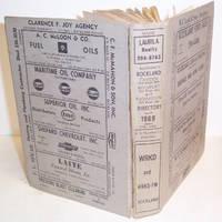 MANNING'S ROCKLAND, CAMDEN, ROCKPORT, THOMASTON (KNOX County, Maine) DIRECTORY 1969 Volume XXIX