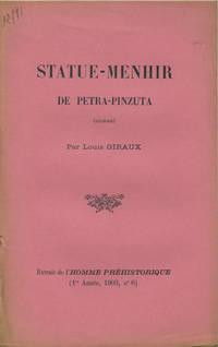 Tours, France: Imprimerie Paul Bousrez, 1903. Offprint. Paper wrappers. A very good clean copy with ...