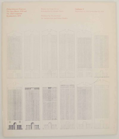 New York: Institute for Architecture and Urban Studies, 1978. First edition. Softcover. 73 pages. Ex...
