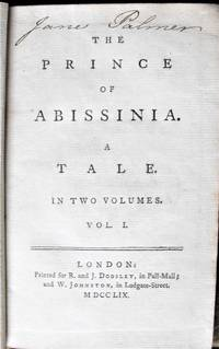 The Prince of Abissinia.  A Tale.