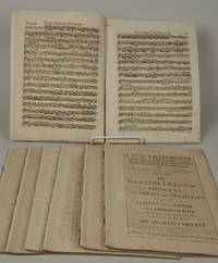 Concerti Grossi ... Opera Sesta [Complete set of parts] XII Great Concertos, or Sonatas, for two Violins and a Violoncello or for two Violins more, a Tenor, and a Thorough-Bass: which may be doubled at Pleasure, being the sixth and last work of Arcangelo Corelli