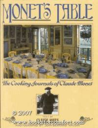 image of Monet's Table: The Cooking Journals of Claude Moet