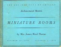 image of Miniature Rooms: Architectural Models: October 15, 1937 - October 1, 1938