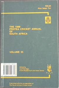 Protea Cricket Annual of South Africa (Volume 35) 1988