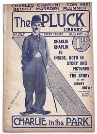 The Pluck Magazine August 28 1915 Featuring Charlie Chaplin