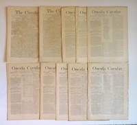 image of The Circular and later, Oneida Circular ( 10 Issues 1870-1875 )