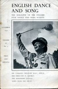 image of English Dance and Song  :The Magazine of the English Folk Dance and Song Society : Vol XV No 3  November 1950