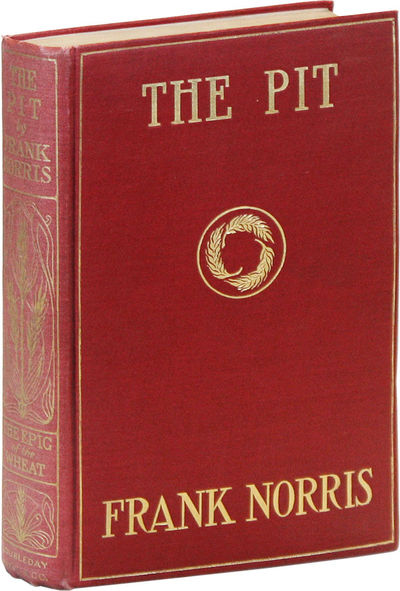 New York: Doubleday, Page & Co, 1903. Sequel to The Octopus (1901), this a fictitious account of whe...