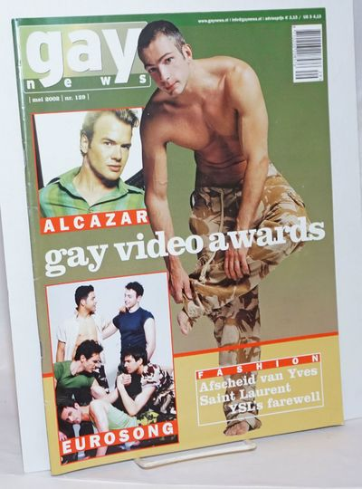 Amsterdam: Gay News Press, 2002. Magazine. 64p. includes covers, 9.5x13 inches, texts in English and...