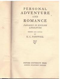 image of PERSONAL ADVENTURE AND ROMANCE