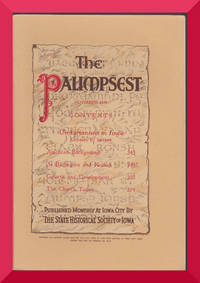 The Palimpsest: Unitarianism In Iowa By Charles F. Snyder      * November 1949 Issue *