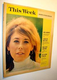 This Week Magazine, January 30, 1966 - Insert to the Boston Sunday Herald: Wonderful Color Cover Photo of Model Colette Bablon