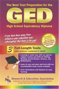 GED : The Best Test Preparation for the High School Equivalency Diploma